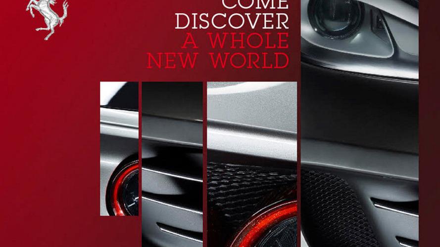 Ferrari FF facelift teased, debuts next month