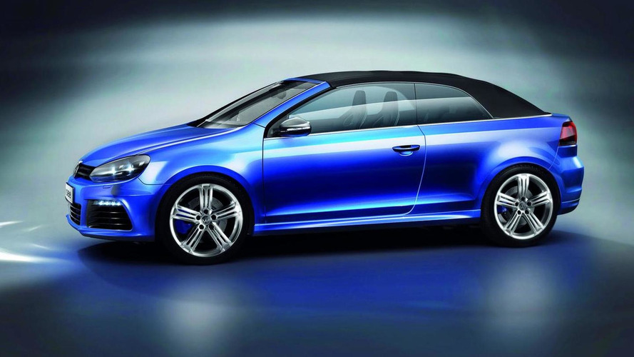 VW Golf R and GTI Cabriolet Concepts revealed in Wörthersee