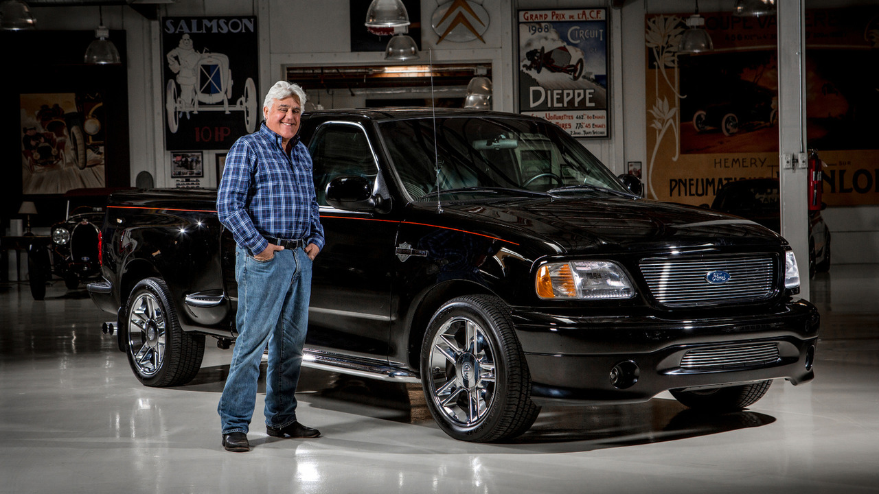 Jay Leno and 2000 Harley-Davidson F-150
