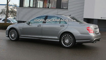 2010 Mercedes S 63 AMG Facelift Spy