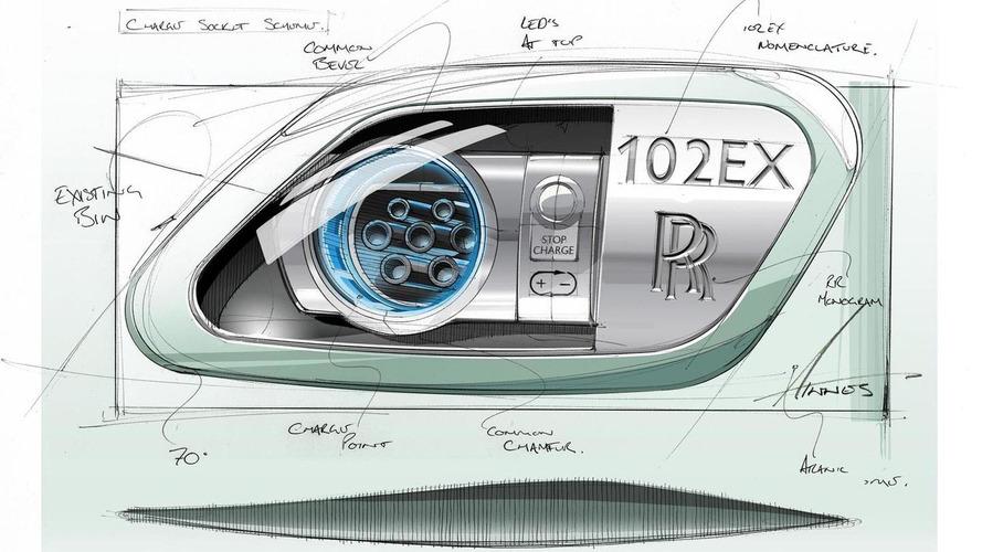 Rolls-Royce 102EX teased [video]