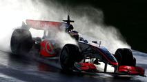 Pedro de la Rosa, McLaren Mercedes, Testing, Algarve MotorPark, Portugal 20.01.2009