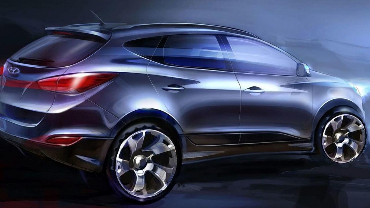 2011 Hyundai Tuscon ix35 sketches - 1280