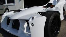 Morotti concept reverse three-wheeler