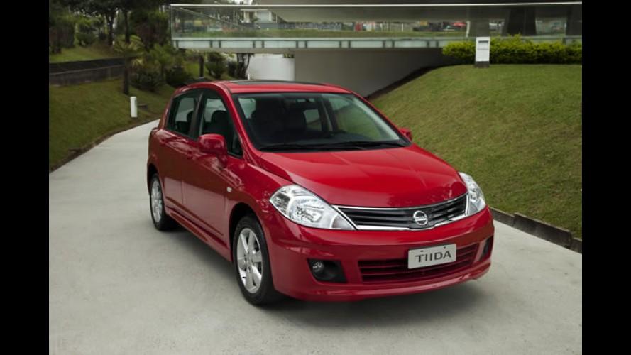 Nissan lança linha Tiida 2012 com novidades