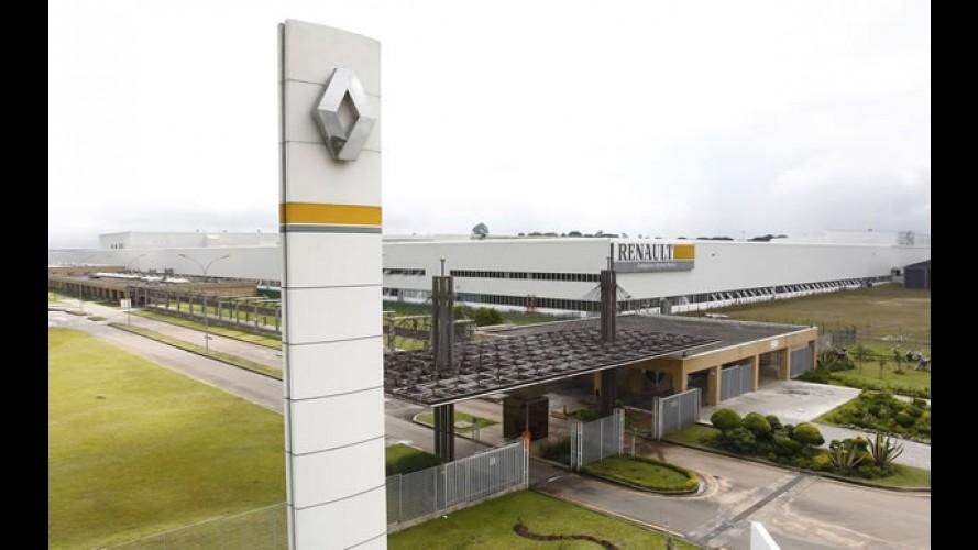 Renault anuncia investimento de R$ 500 milhões para ampliação da fábrica no Brasil