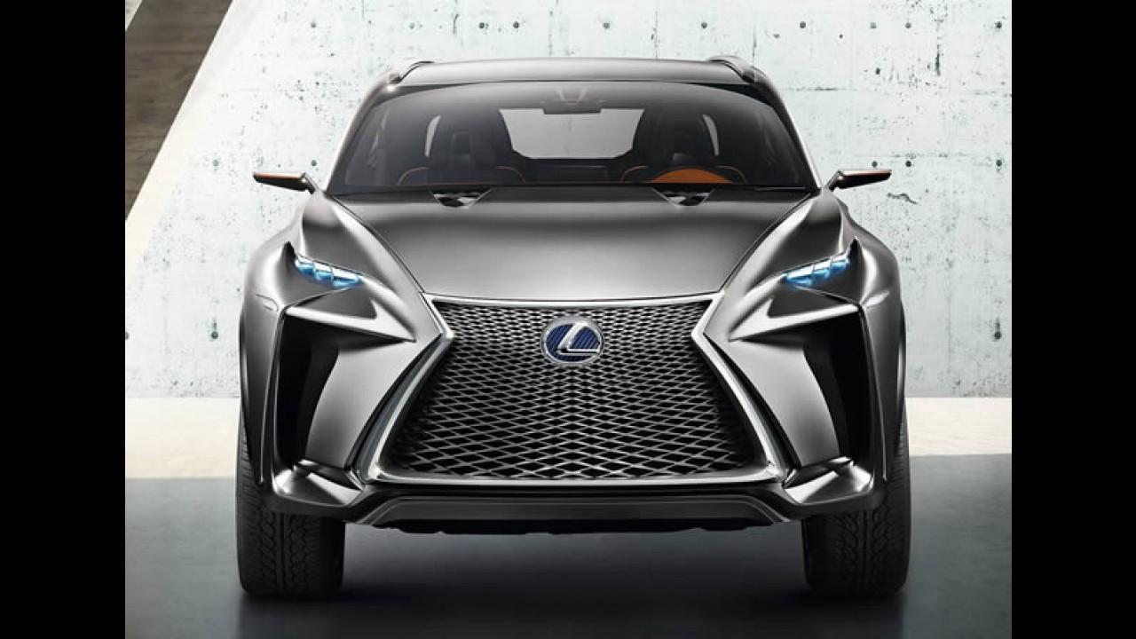 LF-NX Concept é novidade da Lexus para Frankfurt