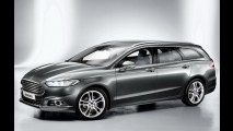 Novo Ford Mondeo tem versões Sedan, Notchback e SW na Europa - Veja galeria de fotos