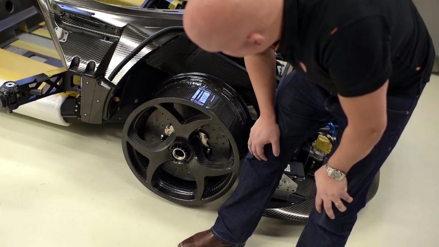Koenigsegg Regera carbon wheels
