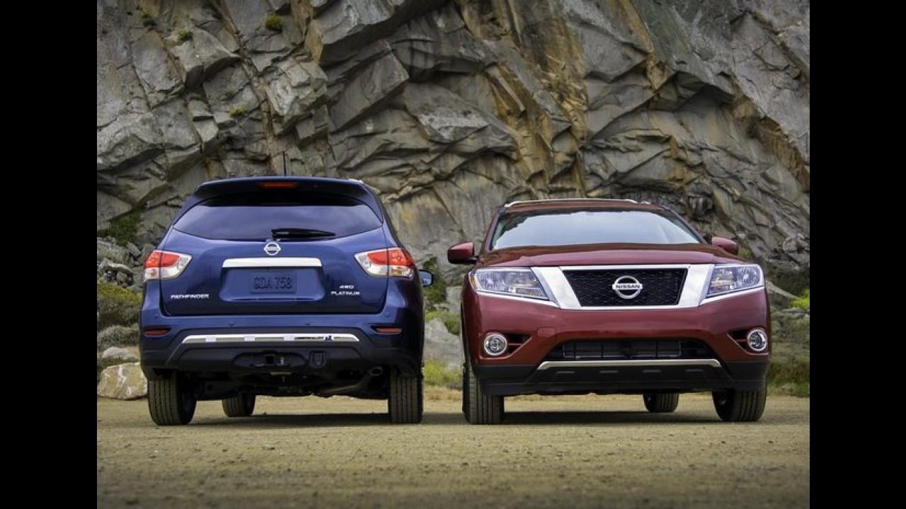 Nissan Pathfinder 2013 tem mais imagens e detalhes revelados