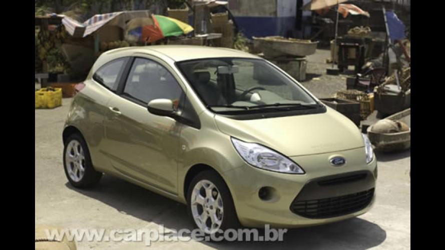 Novo Ford KA europeu já nasce estrela de cinema - Carro estará no próximo 007