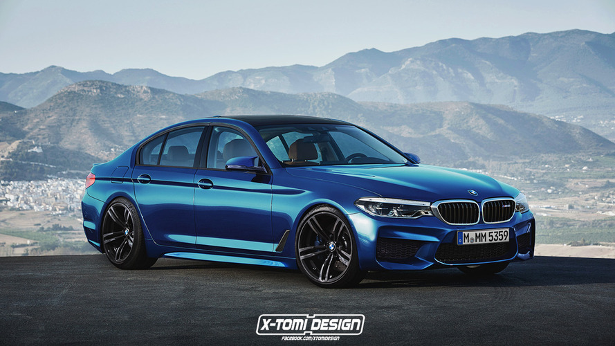 2017 BMW 5 Series already rendered as M5 and Touring wagon