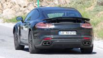 Spyshots d'un concept potentiel de Porsche Panamera Coupé