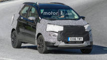Ford EcoSport facelift spy photo