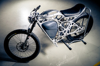 Meet the World's First 3D Printed Motorcycle