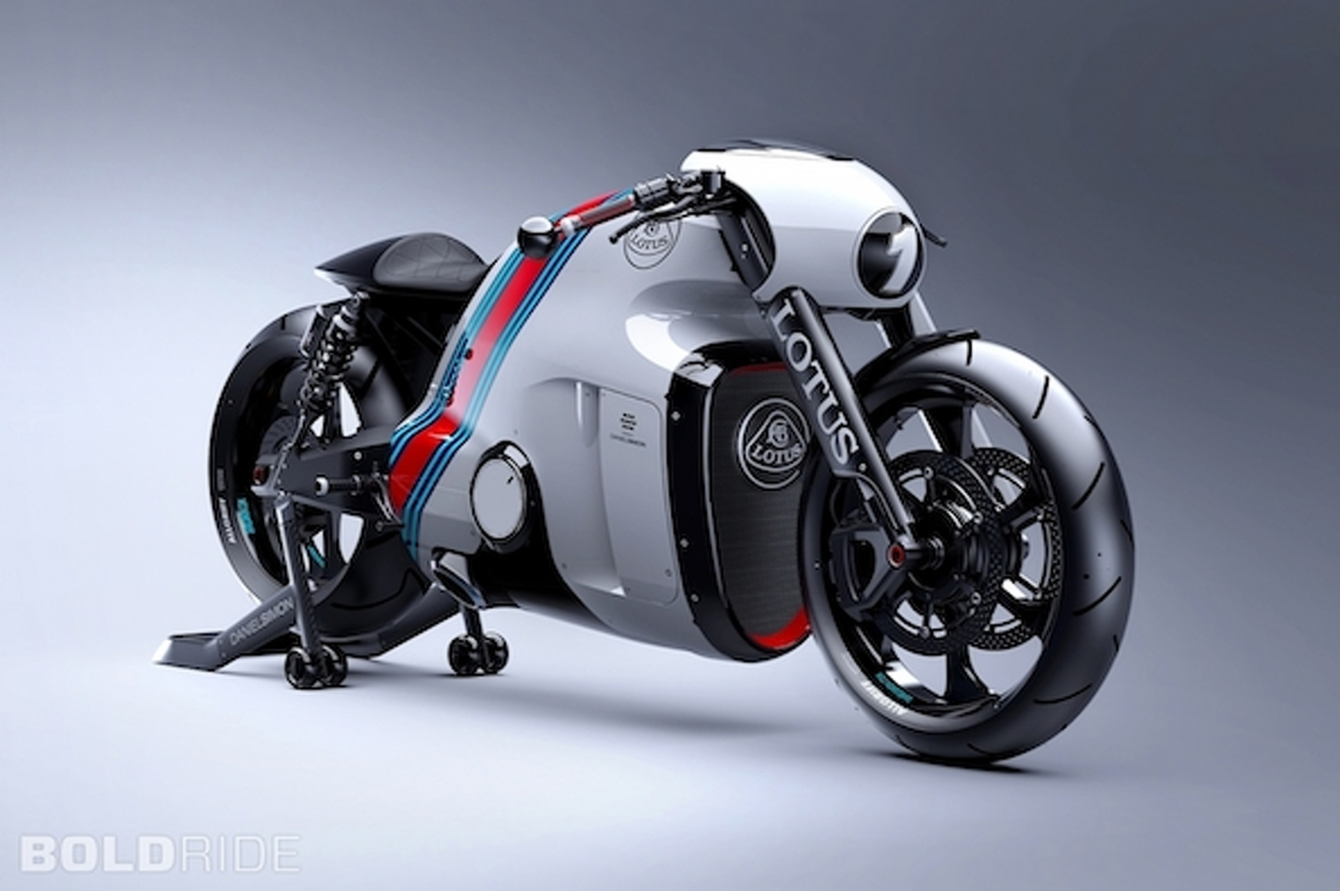 Lotus C-01 Superbike is a 200-HP, Carbon Fiber British Beast