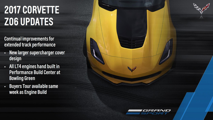 2017 Corvette Updates And Changes Revealed  GM Authority