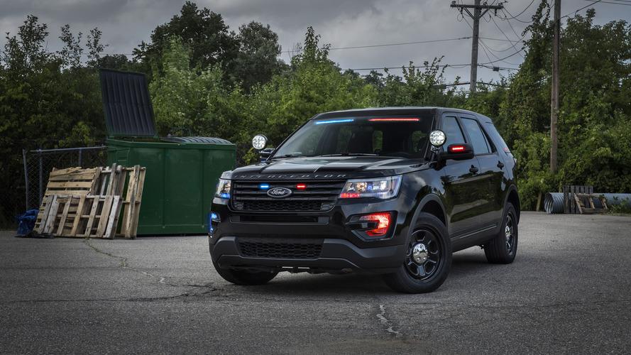 Le nouveau Ford Police Interceptor Utility conçu pour la police américaine !
