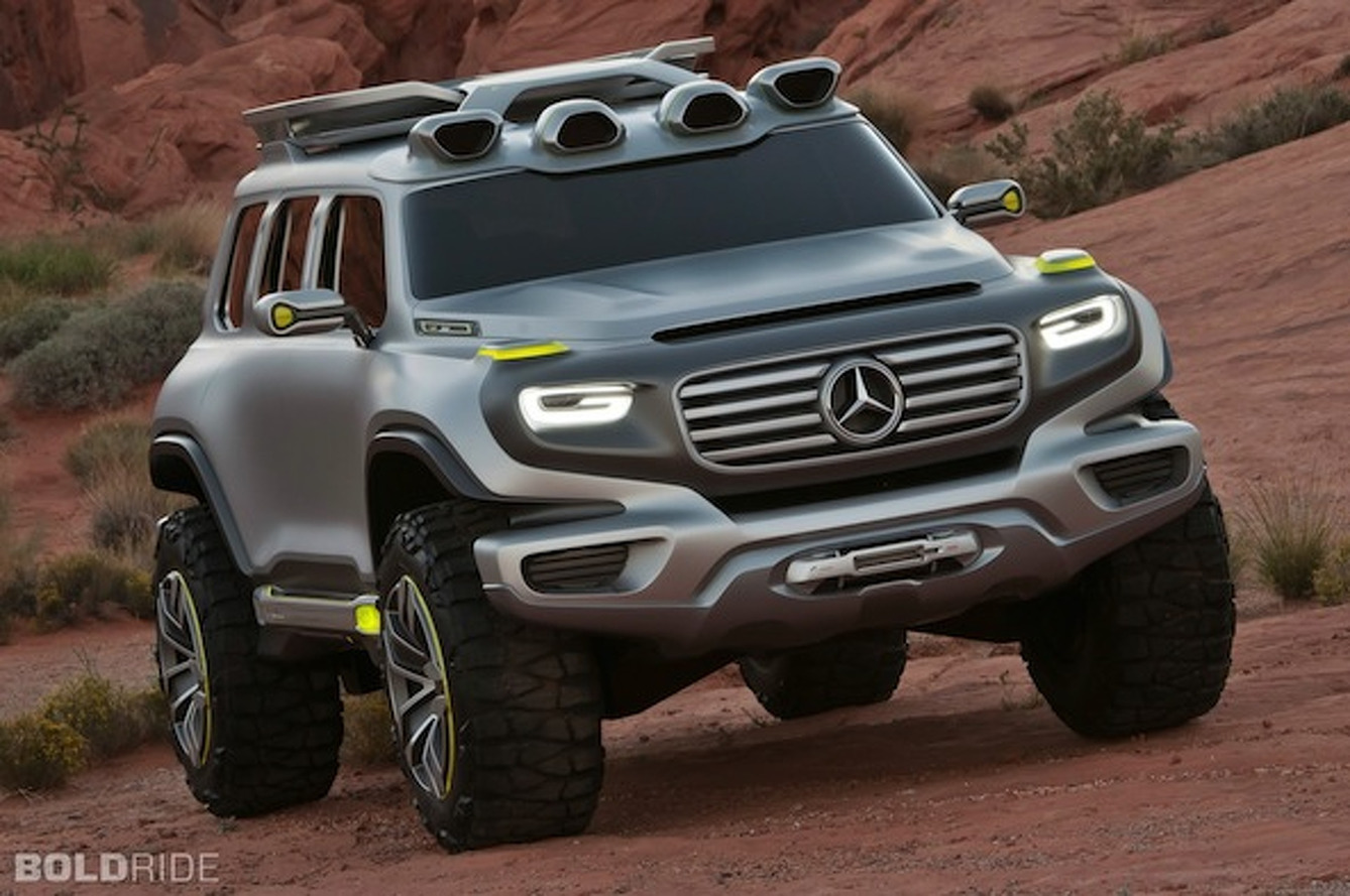 12 Cars of Christmas: Mercedes-Benz Ener-G-Force Concept