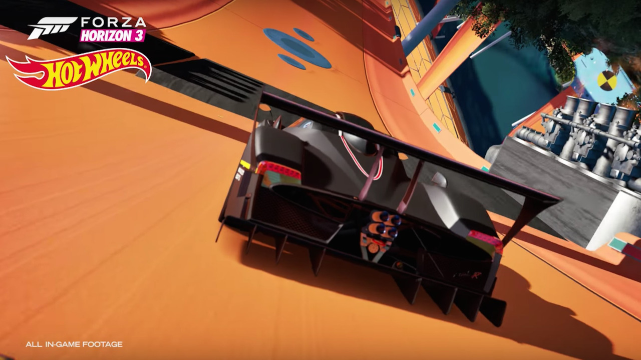 Hot Wheels Comes To Life In New Forza Horizon Expansion Pack