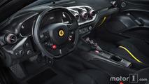 El Ferrari F12tdf contra el Ferrari 812 Superfast
