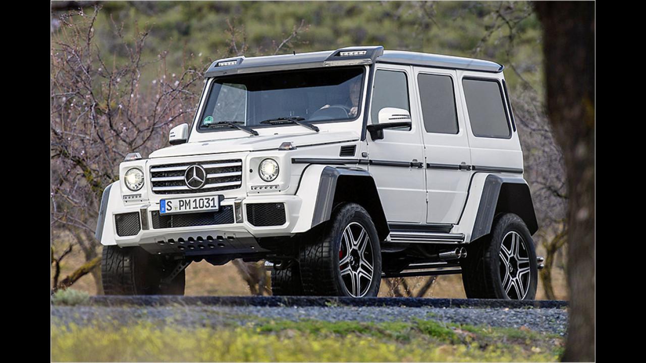 Der Angeber: Mercedes G 500 4x4 hoch 2