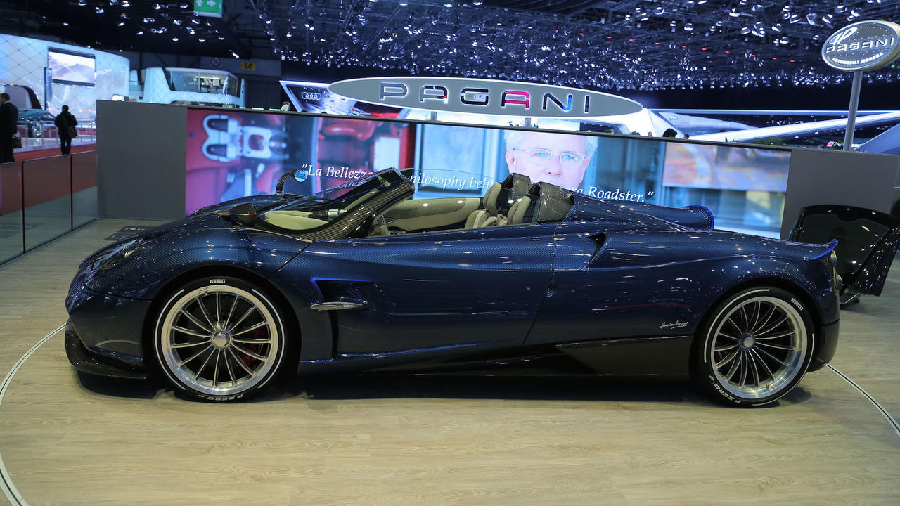 New Pagani Huayra Roadster Is Lighter More Powerful Than