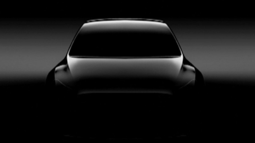 Tesla Model Y First Glimpse Revealed