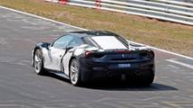 Gizemli Ferrari 488 bir kere daha görüntülendi