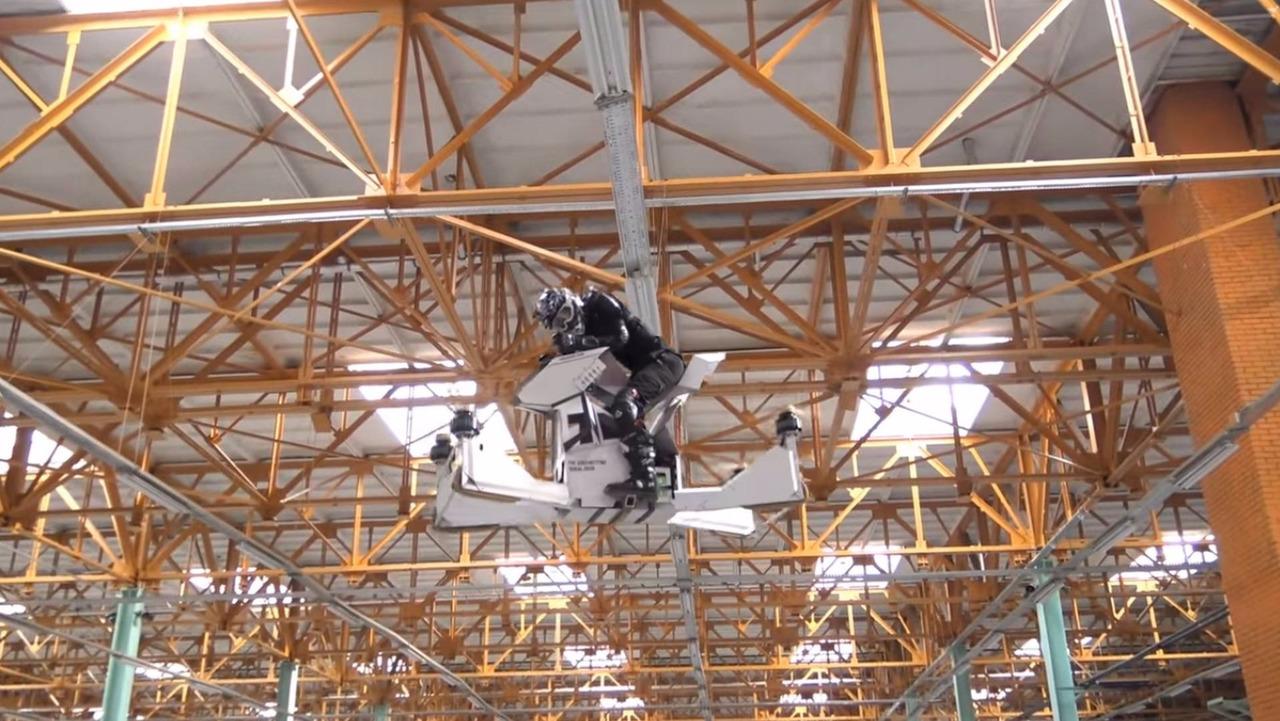 Scorpion-3, a moto drone