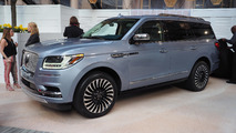 2018 Lincoln Navigator Black Label at New York Auto Show