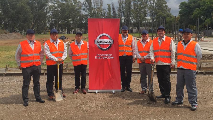 Nissan começa a construir sua nova fábrica de picapes na Argentina