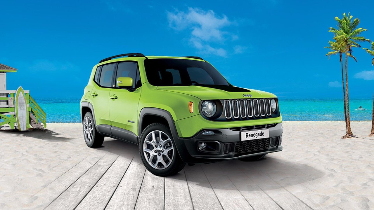 Jeep Renegade beach edition