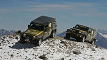 Jeep Wrangler Unlimited climbs highest vulcano