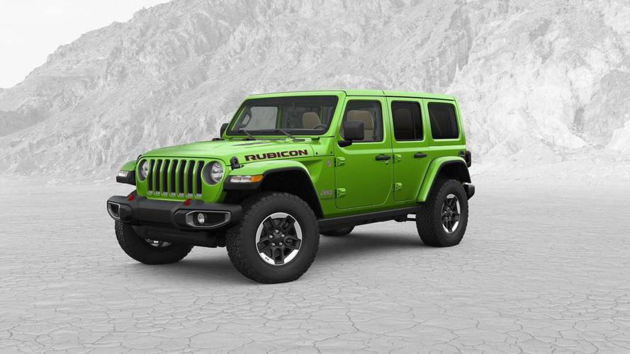 Most Expensive 2018 Jeep Wrangler JL Costs $57,310