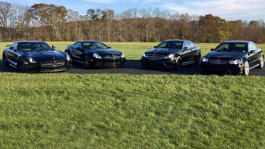 Mercedes Black Series koleksiyonu yeni evini arıyor