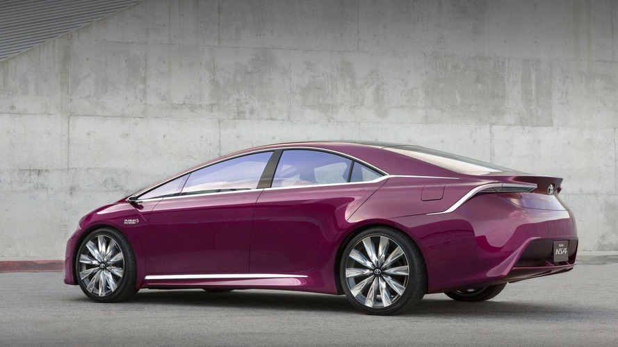 Toyota NS4 advanced plug-in hybrid concept revealed