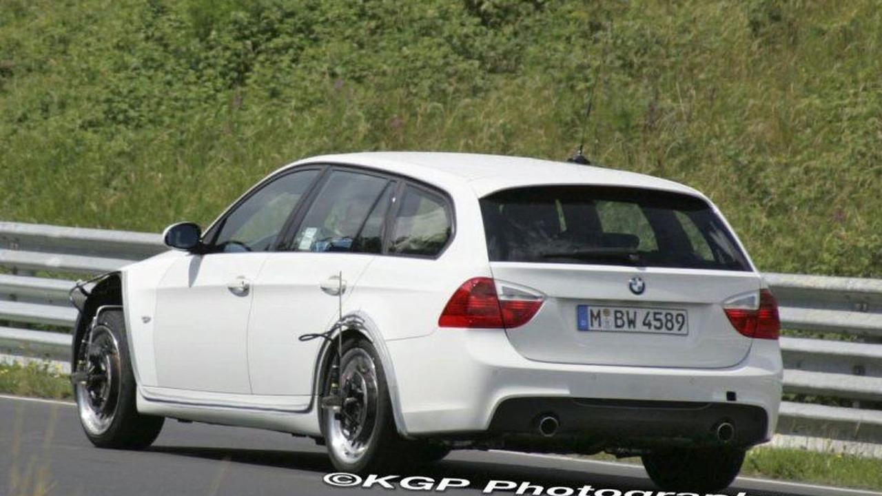 BMW V-Series Spy Photos Re-Emerge