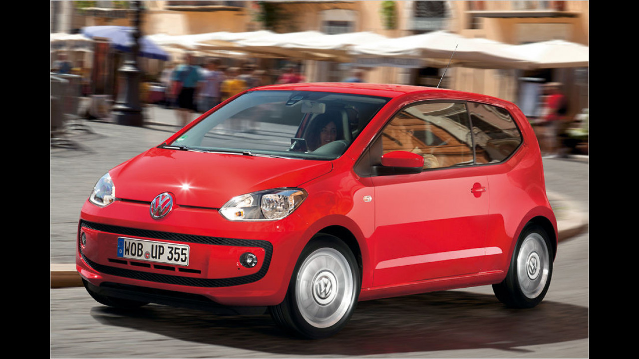 Minis, Platz 1: VW Up (10.400 Stück)