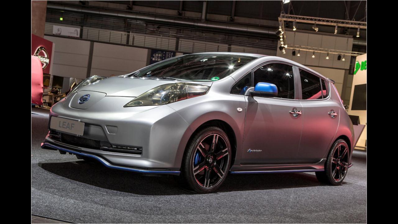 Nissan Leaf mit Nismo-Tuning
