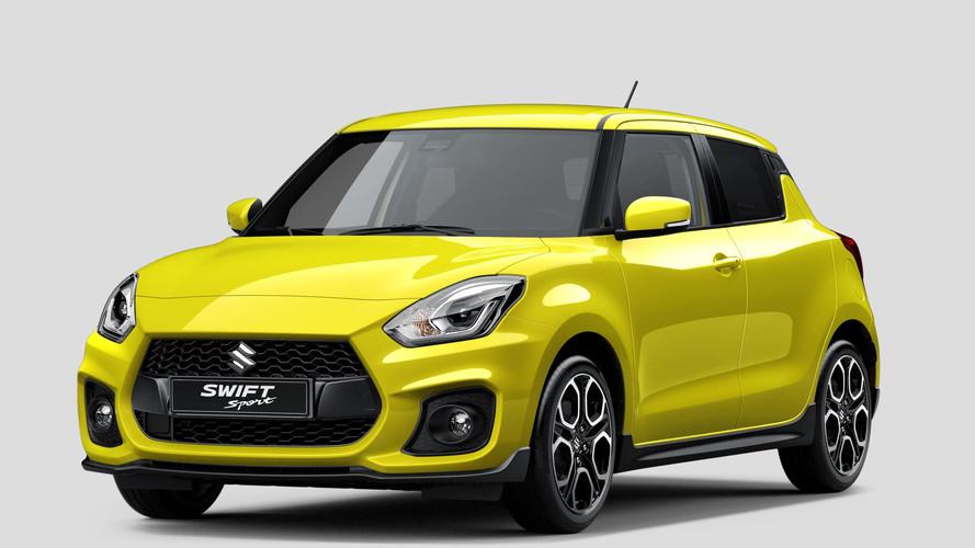 Kiszivárgott fotókon látható a 2018-as Suzuki Swift Sport