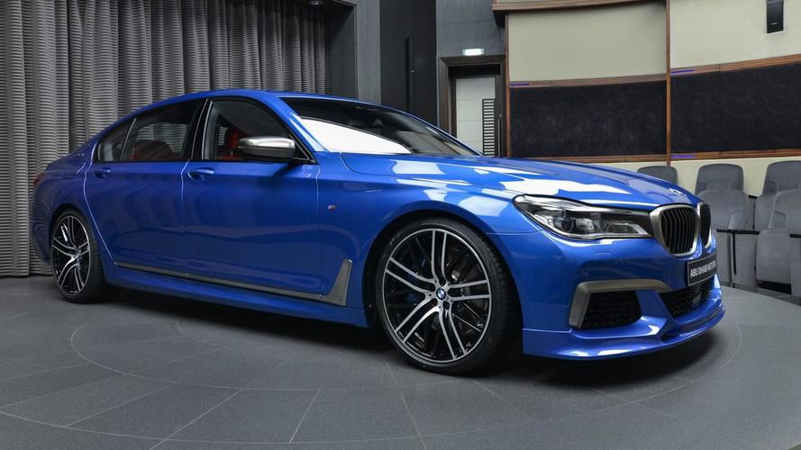 PHOTOS - La plus clinquante des BMW M760Li xDrive