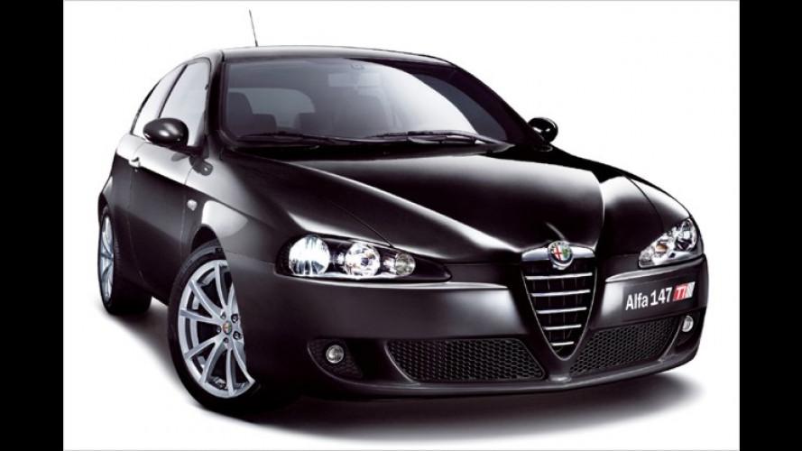 Sondermodell Alfa 147 Limited TI: Schwarz, stark und günstig