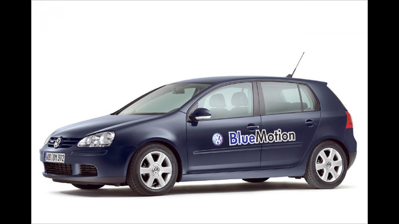 VW Golf V BlueMotion, Bauzeit: ab 2007