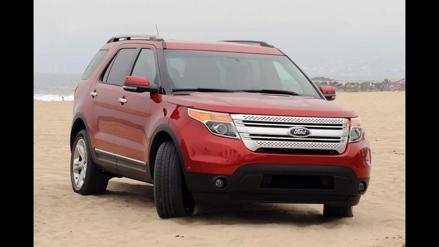Ford Explorer 2012 equipado com motor 2.0 EcoBoost faz até 11,7 km/l