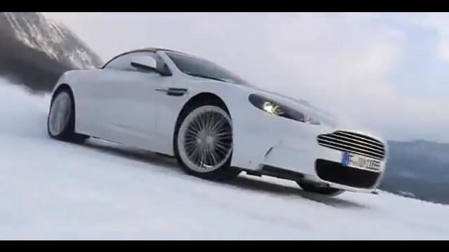 VÍDEO: Aston Martin oferece curso de condução na neve