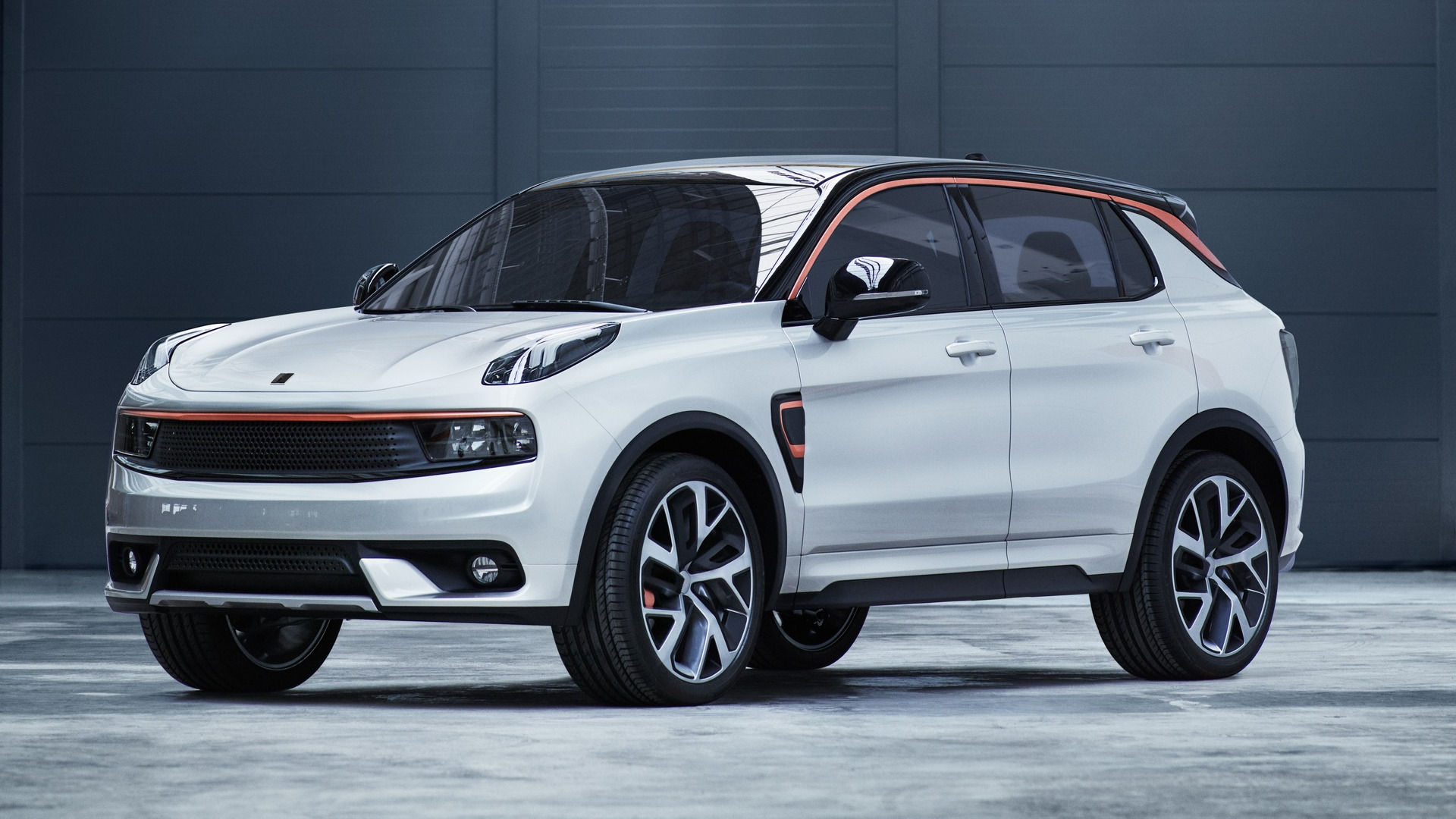 Geely Owned Lynk Amp Co Unveils Volvo Xc40 Based 01 Crossover