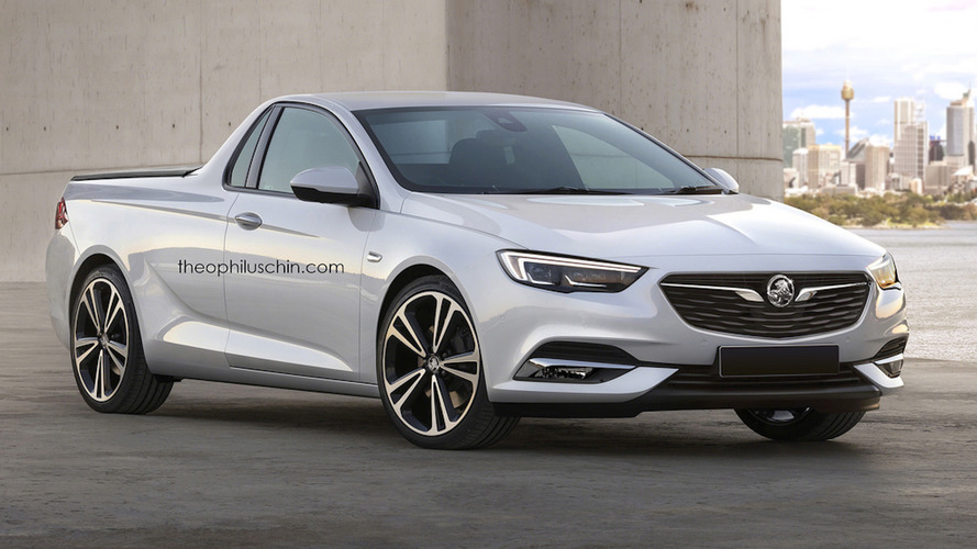 Artist imagines new Holden Commodore ute for Australia