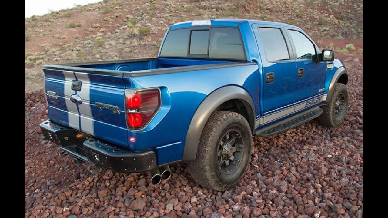 """Shelby revela Baja 700, """"super-picape"""" com mais de 700 cv"""