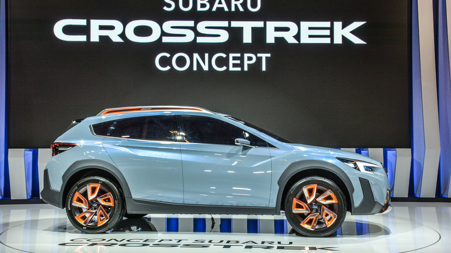 Montreal hosts Subaru Crosstrek Concept's North American debut